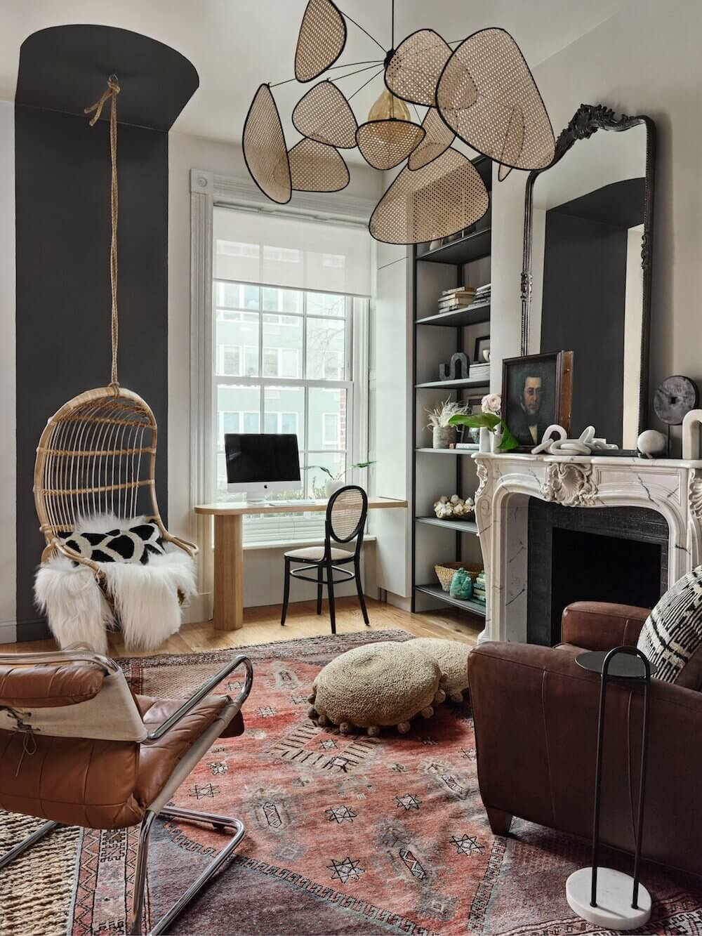 A Warm Brooklyn Brownstone Filled with Interesting Home Decor Ideas