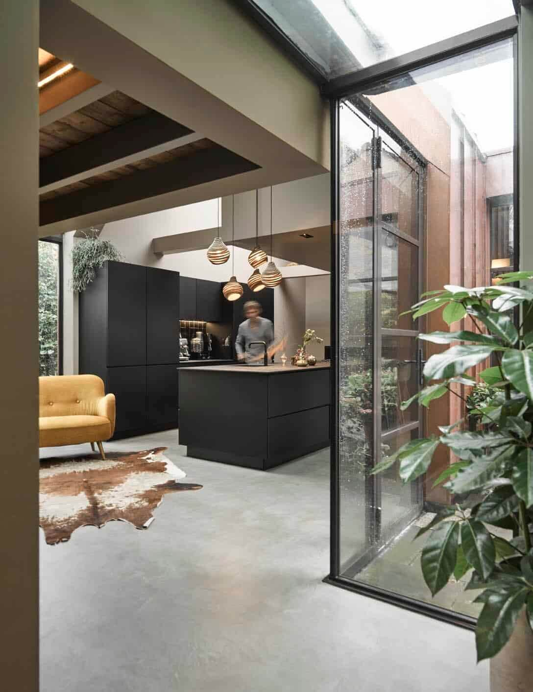 A Characteristic Design Villa with Carriage House in The Netherlands