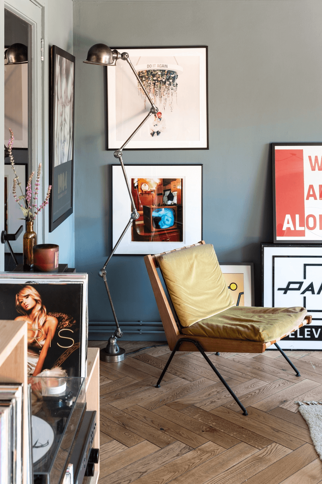 Colorful Rooms in a Mid-Century London Home