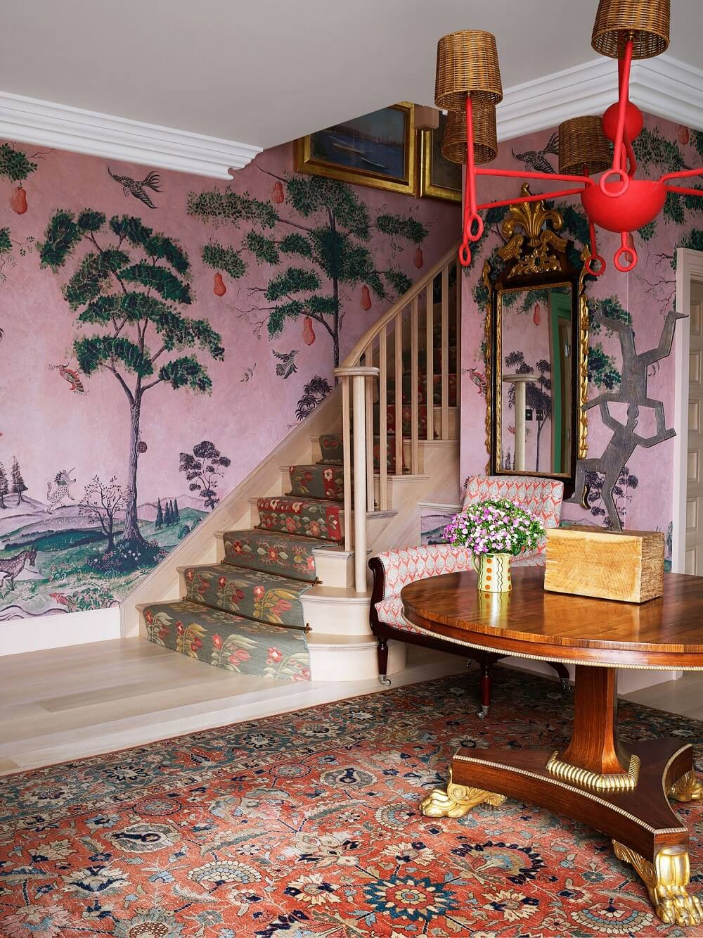 Designer Kit Kemp's Bold and Colorful Hyde Park Home