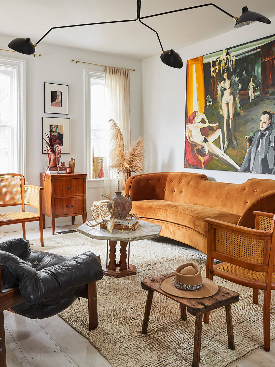 The 1920s Country House of Artist Christine Flynn