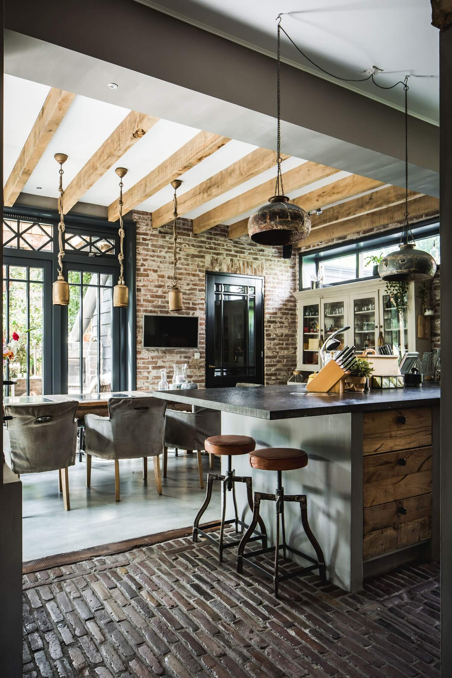 A Warm Rustic Historic Home in The Netherlands