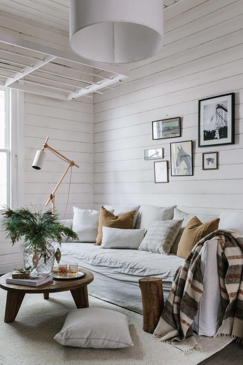 The White Vintage Weatherboard Cottage of an Interior Photographer