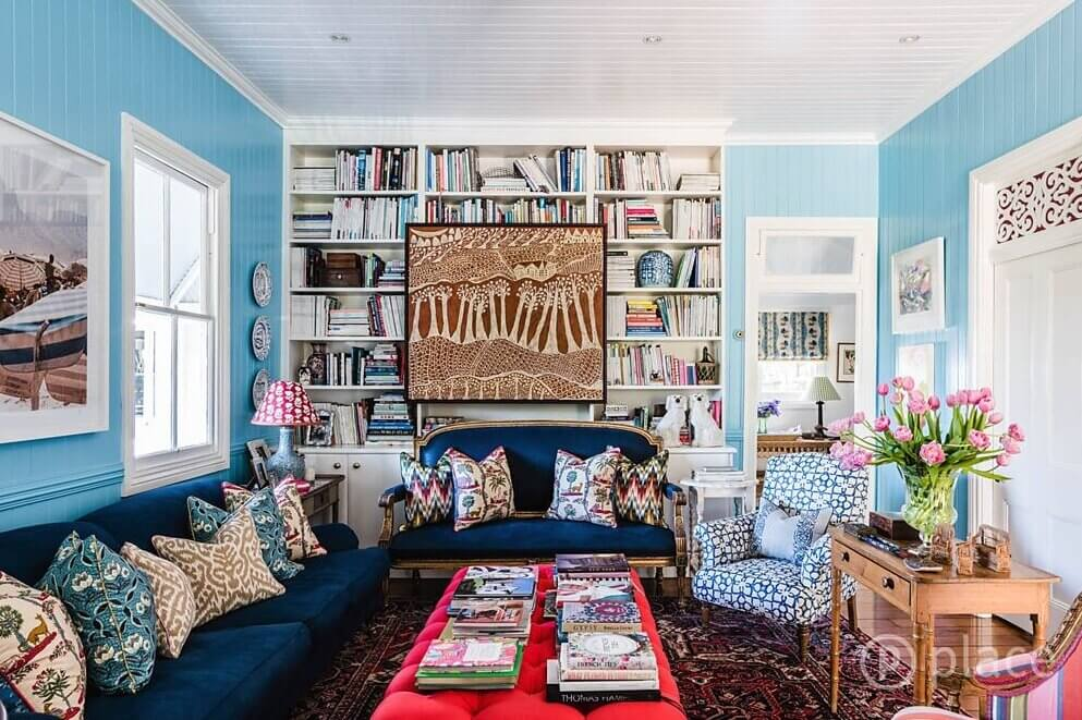 Interior Designer Anna Spiro Is Selling Her Colorful Eclectic Home