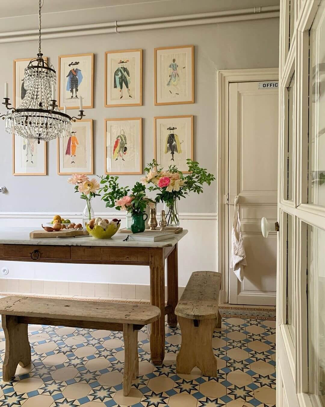 An Ever Changing Serene Vintage Home in France