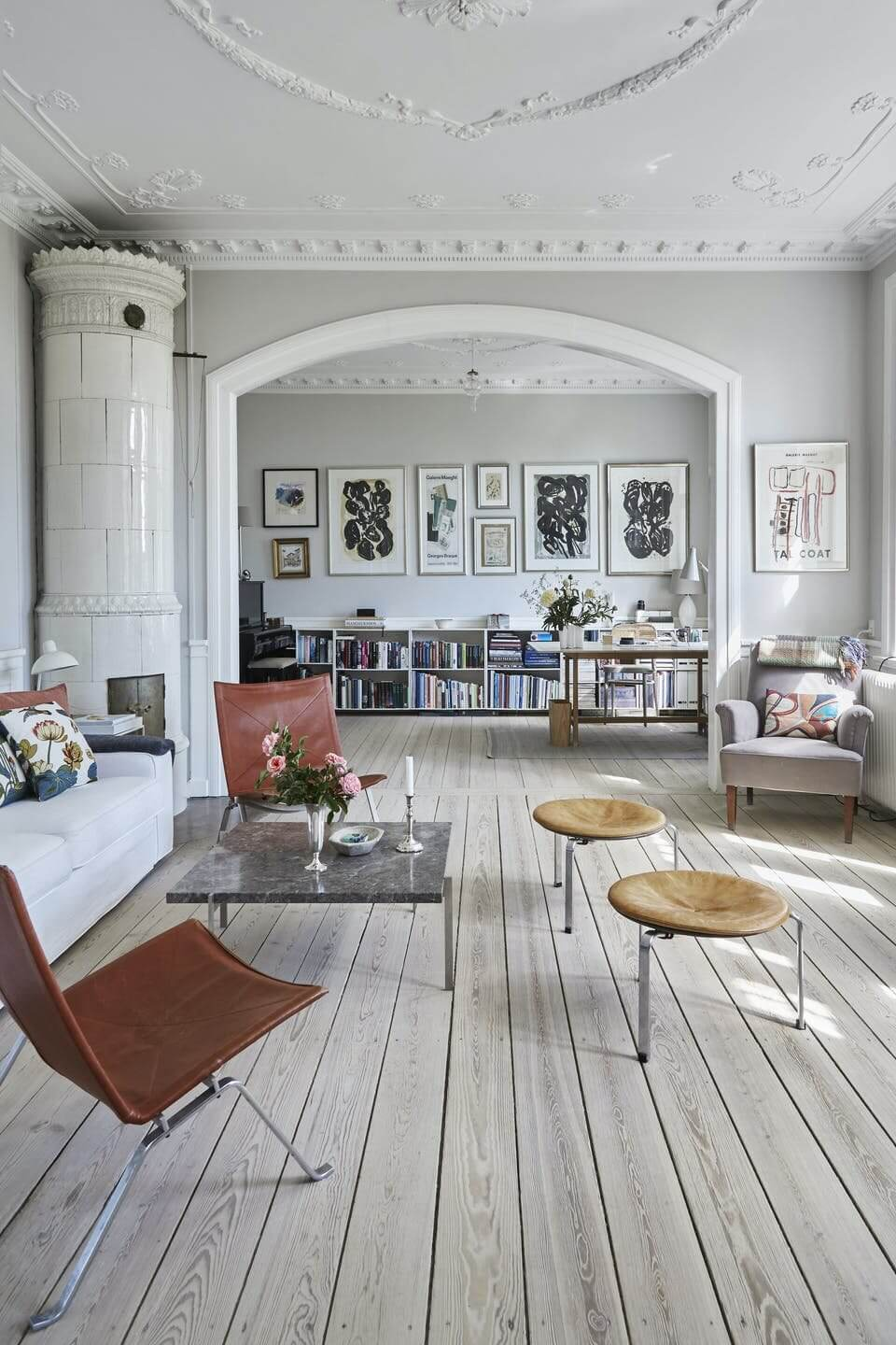 An Interior Stylist's Calm and Natural Home in Denmark