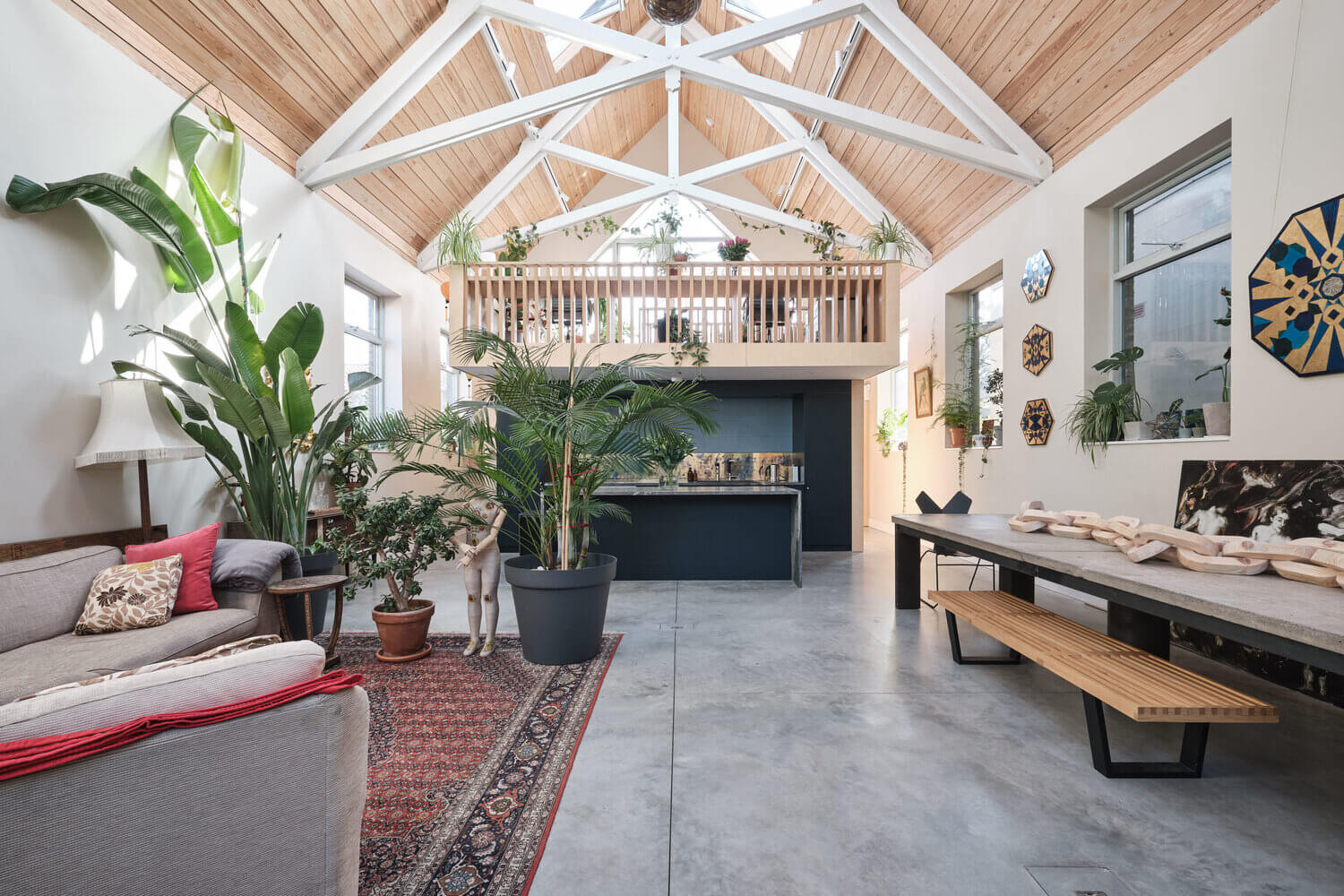 A Former Mission Hall Is Now A Creative Plant-Filled Home