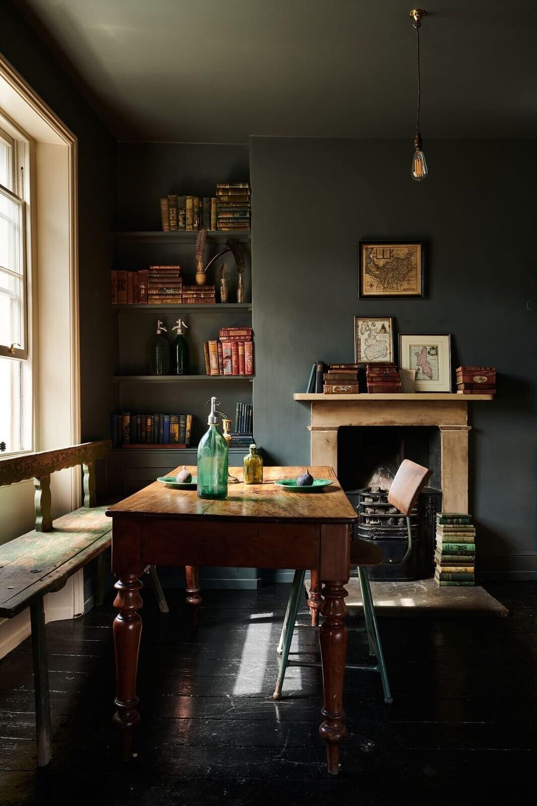 A Moody Haberdasher's Kitchen by deVOL