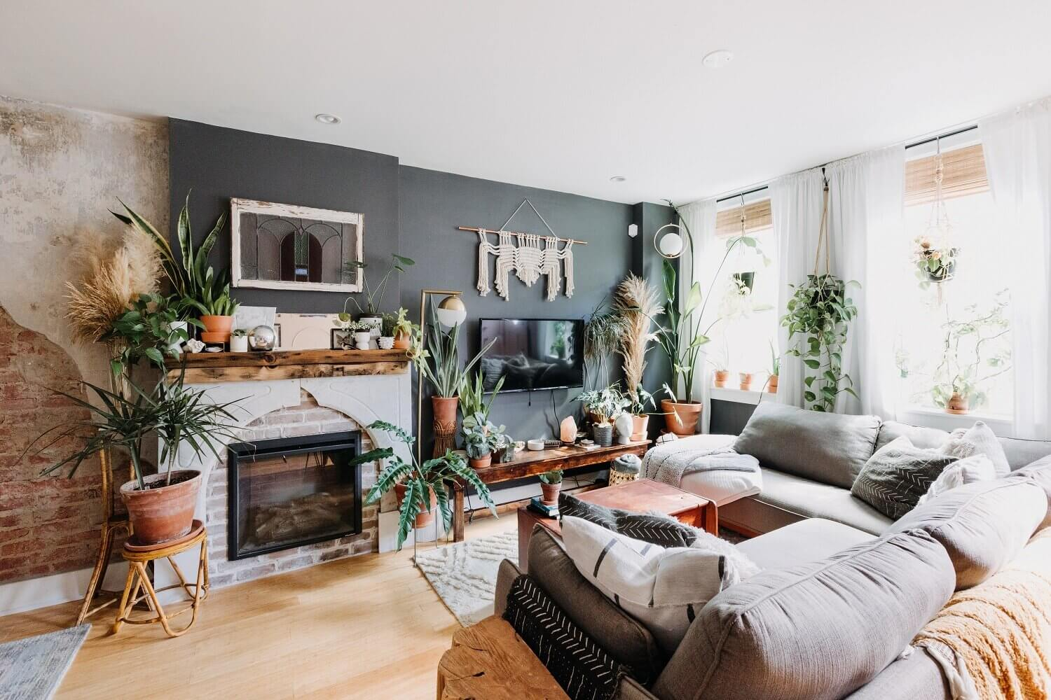 A Cozy Plant-Filled Home in Philadelphia