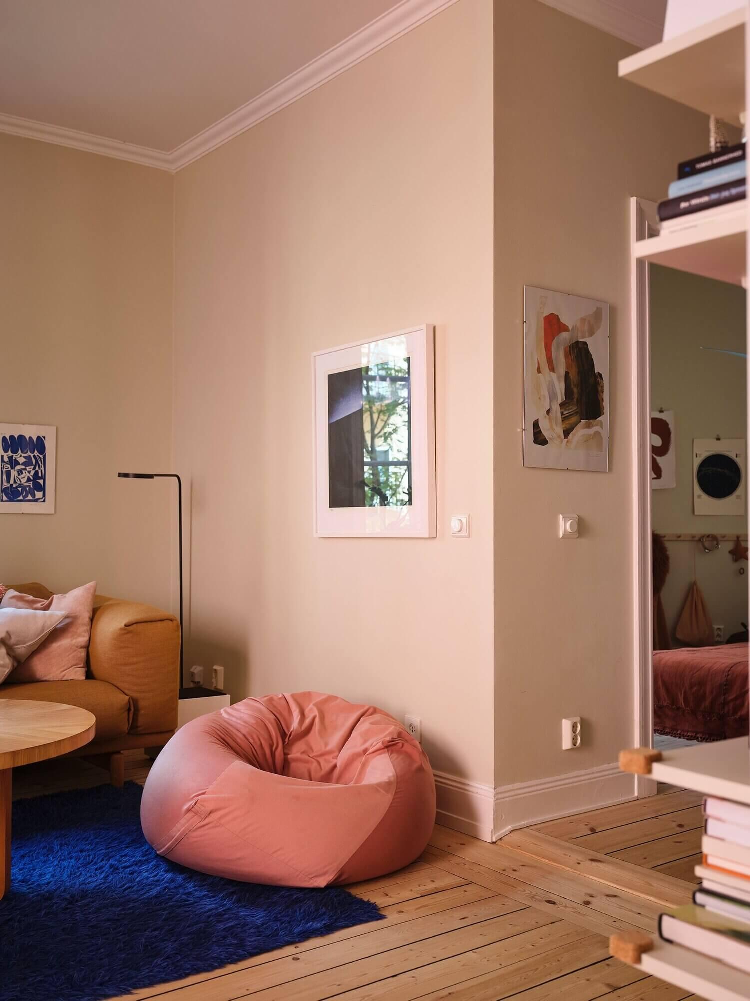 A Beautiful and Warm Scandinavian Apartment
