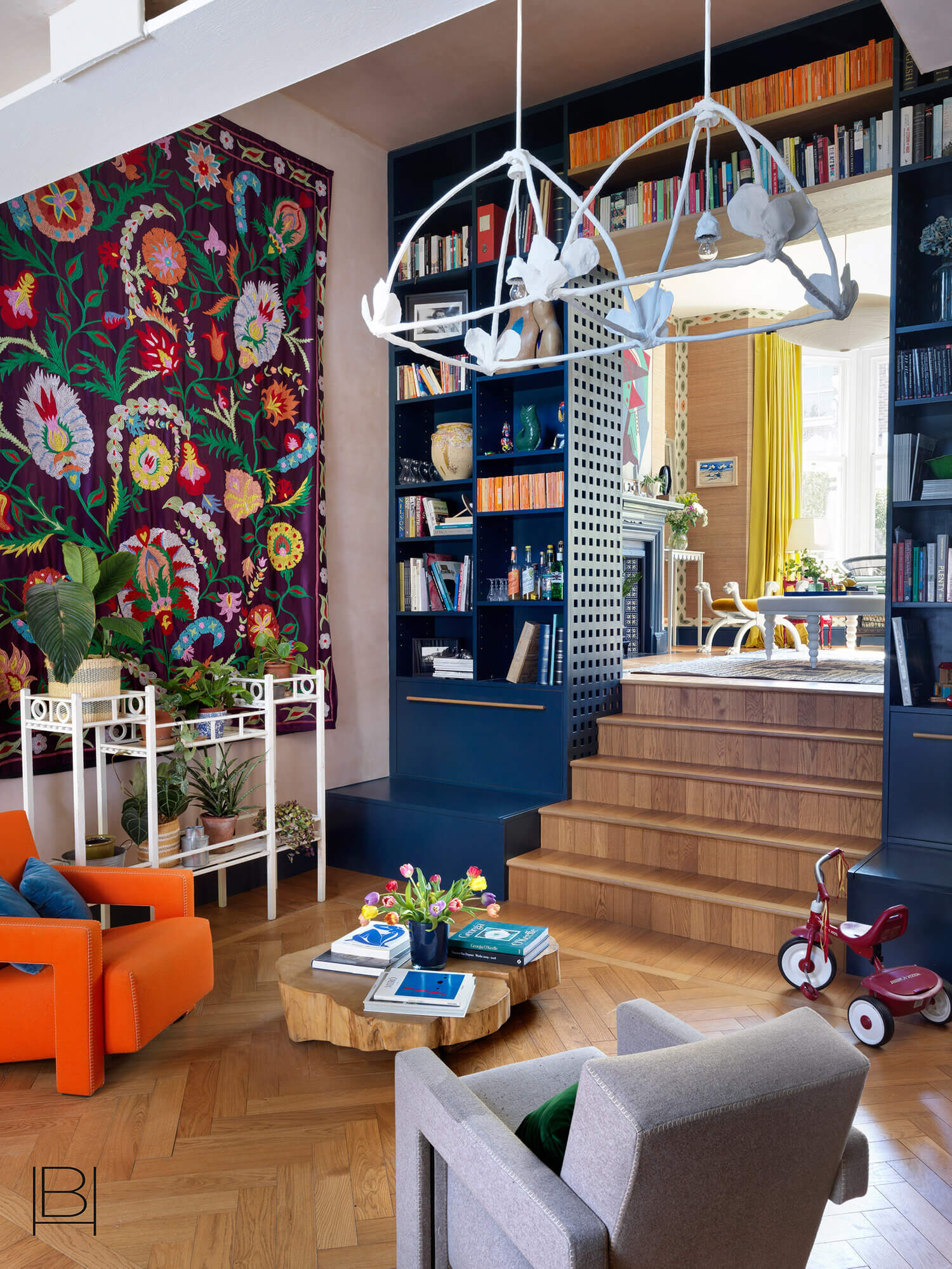 A Colorful London Family Home Designed By Beata Heuman