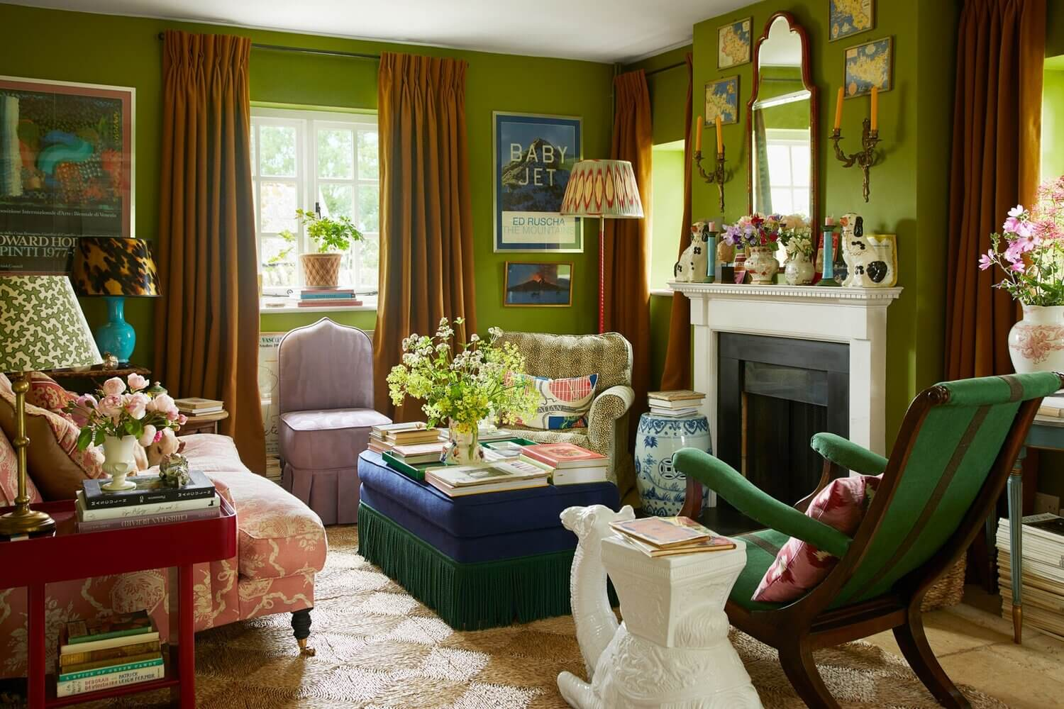 The Eclectic Countryside Home of Luke Edward Hall and Duncan Campbell