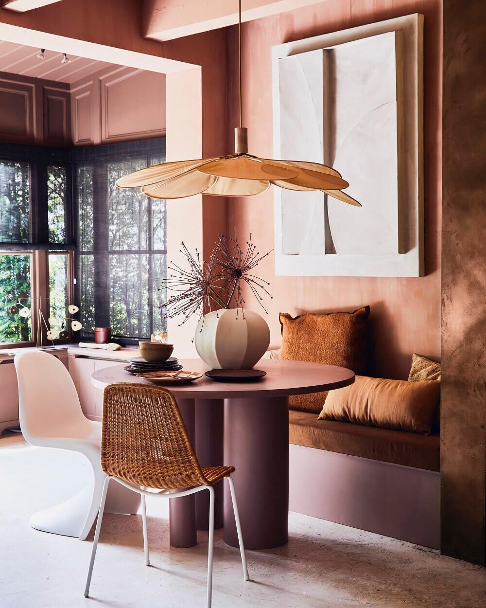Warm Earthy Hues and Cozy Corners For A Moroccan-Style Home