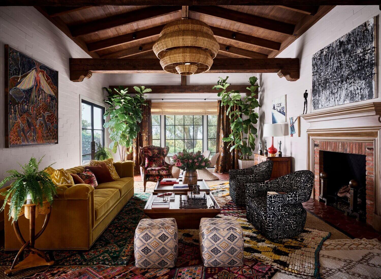The Creative Spanish-Style Hacienda of Actor Rainn Wilson
