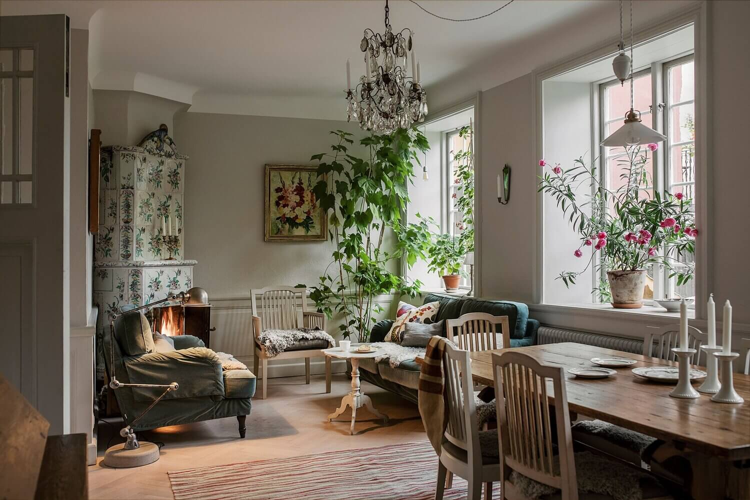 A Stockholm Apartment Packed With History And Charm