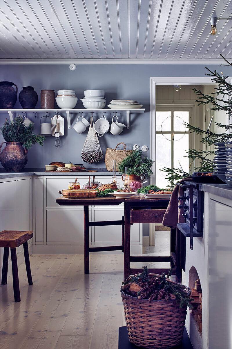 Christmas Decor Inspiration From A Scandinavian Country Home