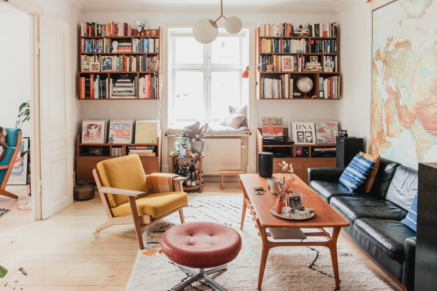 A Copenhagen Apartment Filled with Vintage Finds