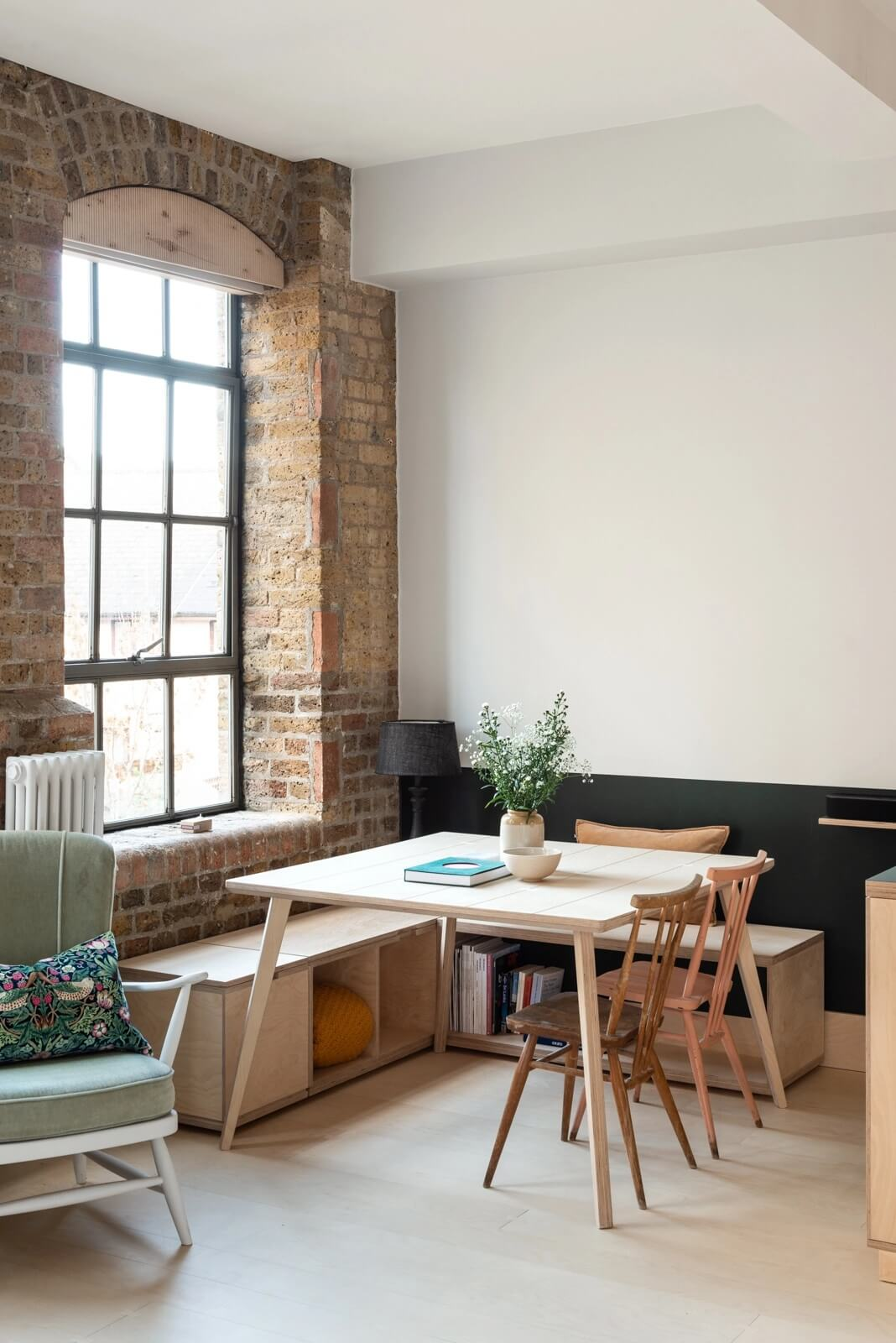 Clever Design In A Small London Apartment