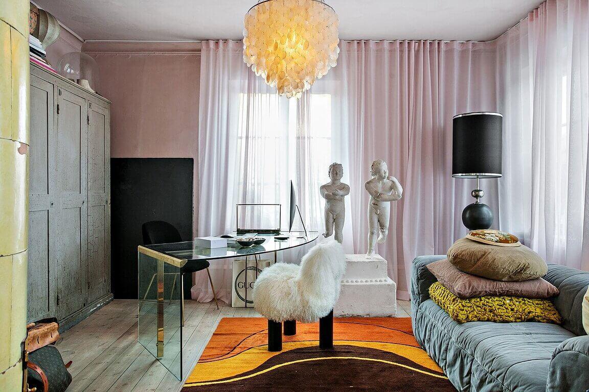 The Unique 19th-Century Villa Of A Swedish Interior Stylist