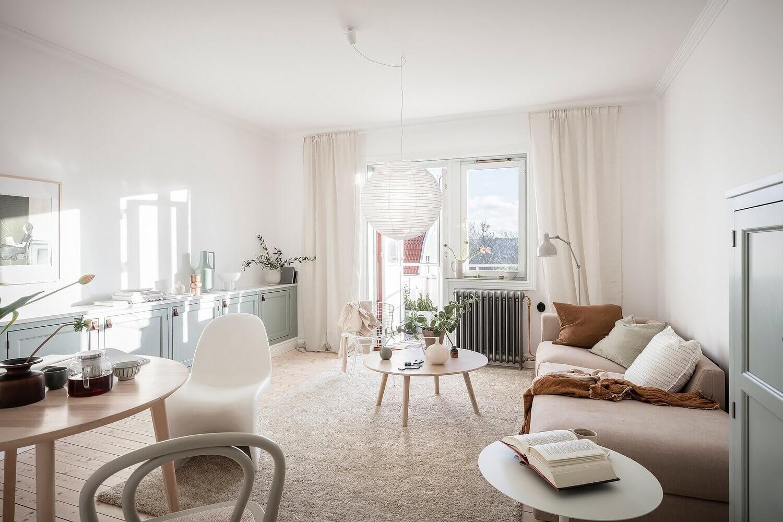 A Harmonious One-Bedroom Apartment With Plenty Of Storage