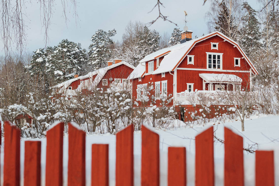 A Picture Perfect Swedish Country House