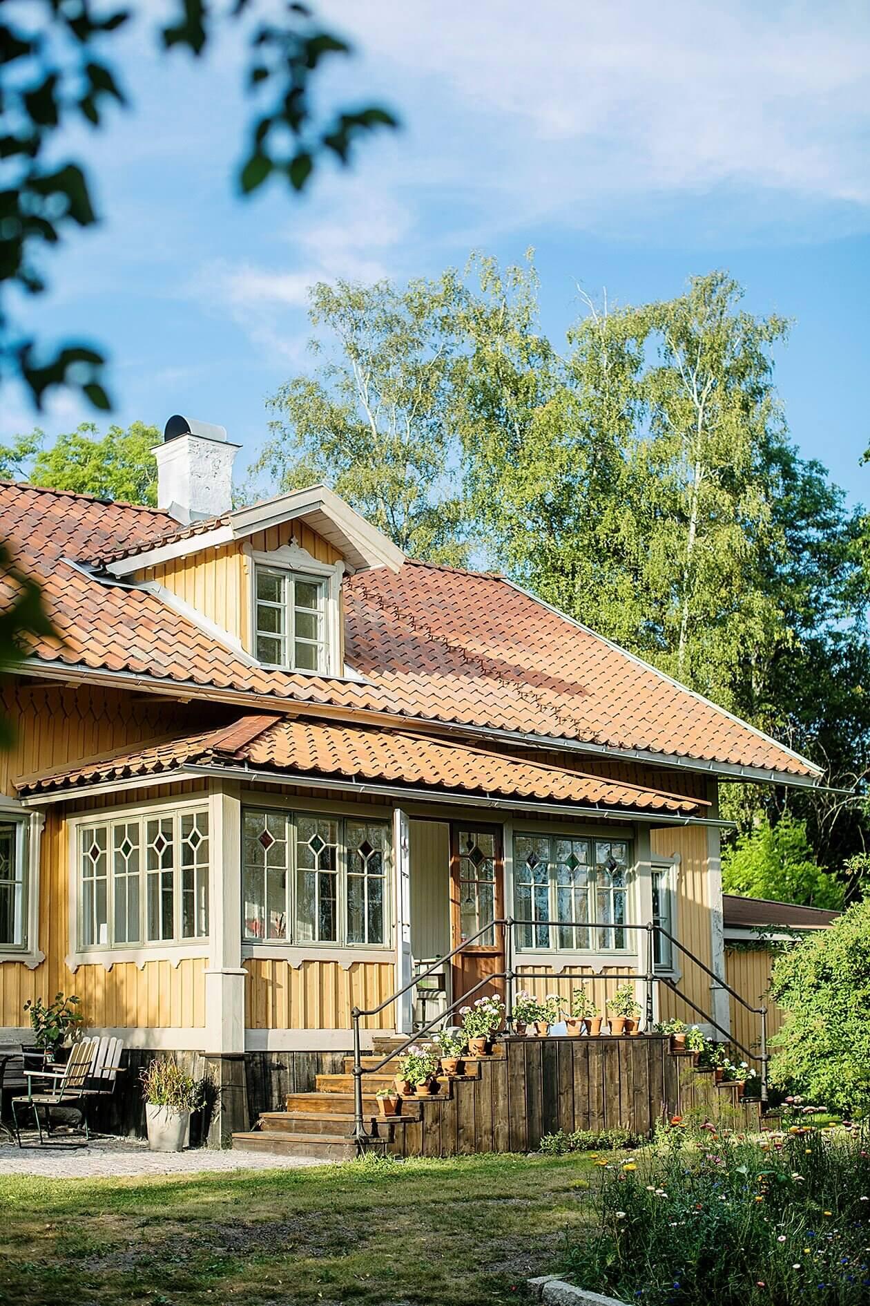 An Idyllic Farmhouse In The Swedish Countryside