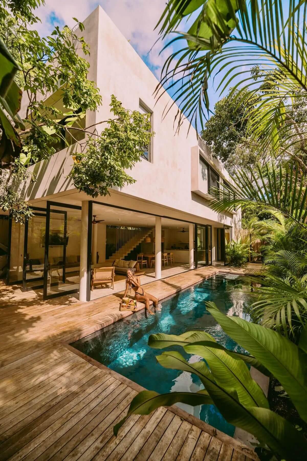 Casa Areca | A Luxurious Eco-Friendly Airbnb Villa in Tulum