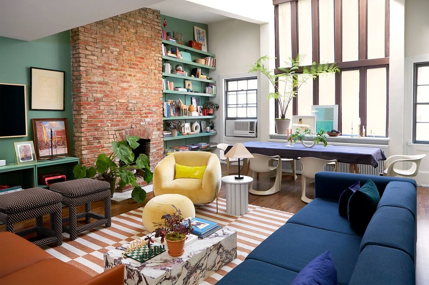 A Creative and Colorful Home in New York City