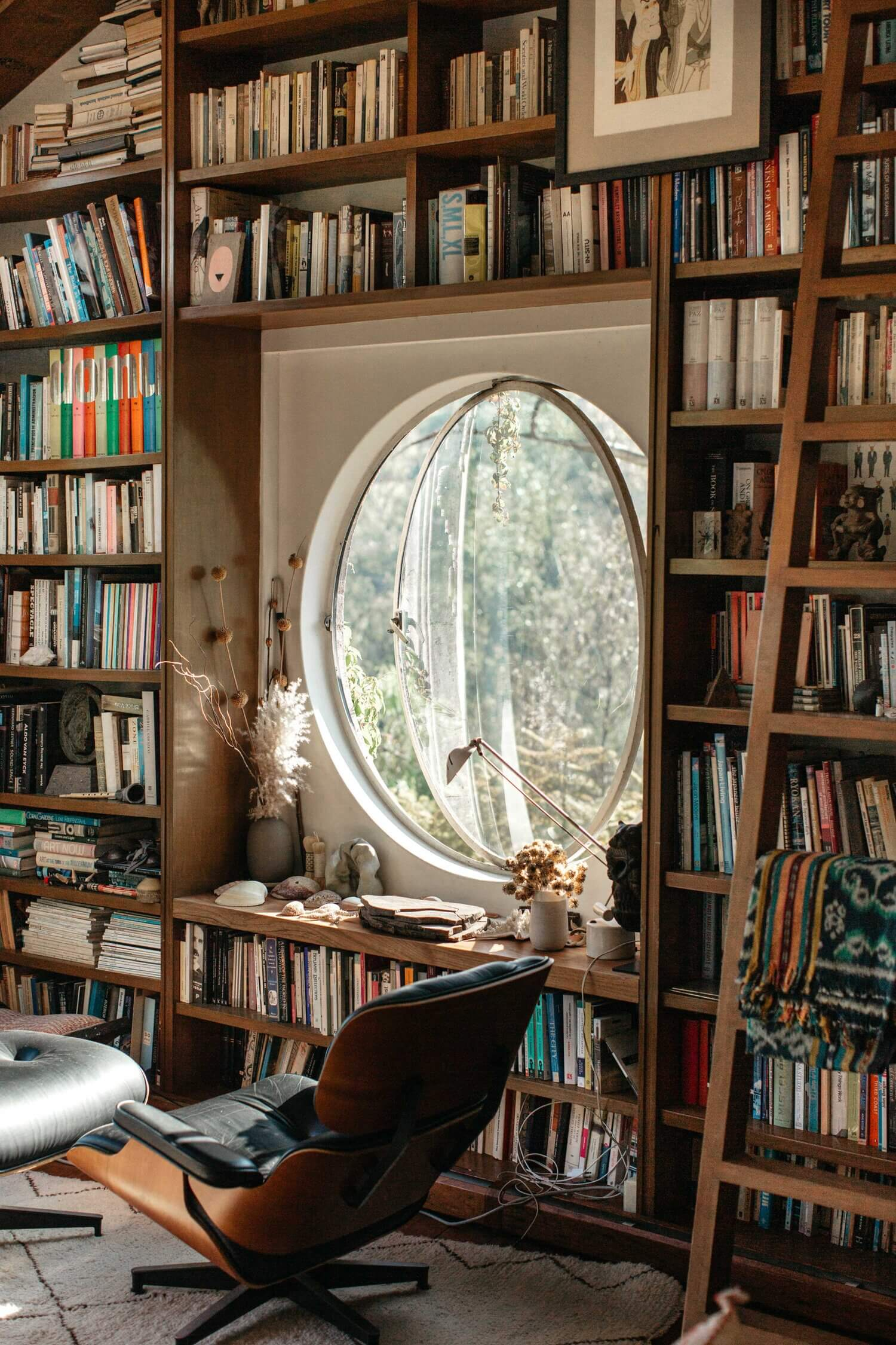 30 Home Library Design Ideas to Surround Yourself With Books