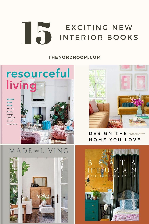 15 New Interior Design Coffee Table Books