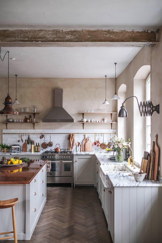 A Beautiful deVOL Kitchen in a Renovated German Schoolhouse