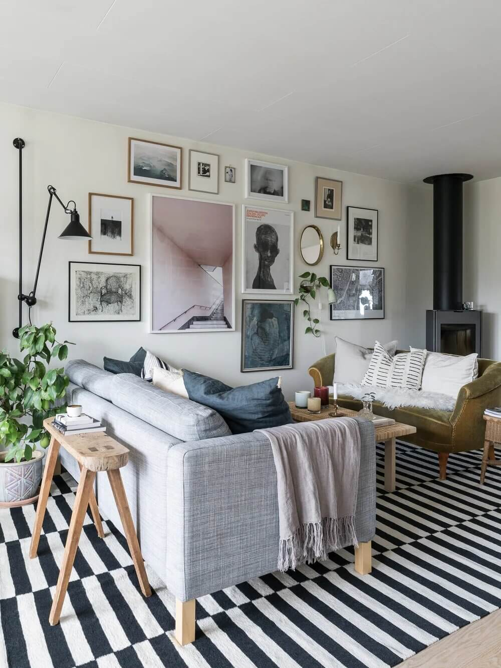 A Scandinavian 1970s Villa Filled With Vintage Decor and Art