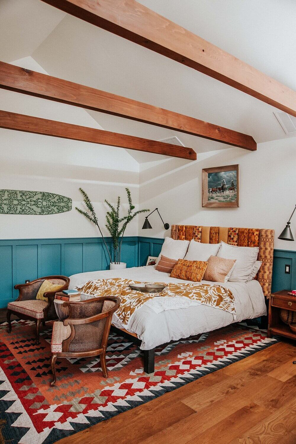 A Vibrant Guesthouse With Vintage Decor And A Copper Kitchen