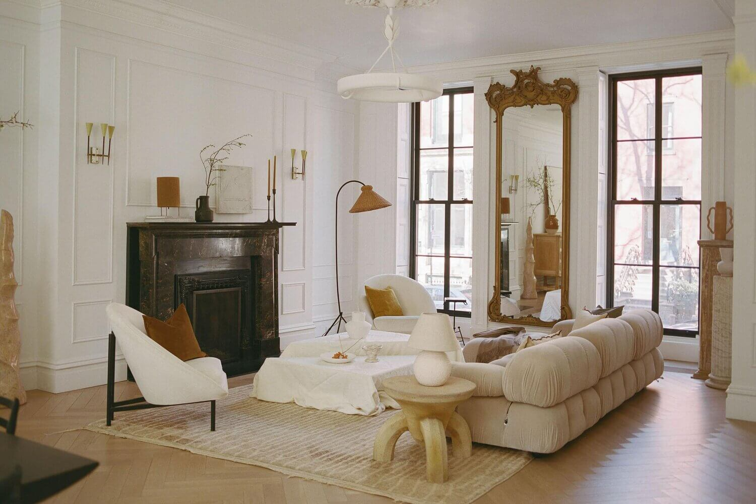 The Brooklyn Townhouse of Athena Calderone Styled With Zara Home