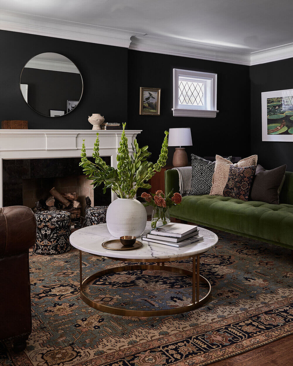 A Moody English-Style Home in Toronto