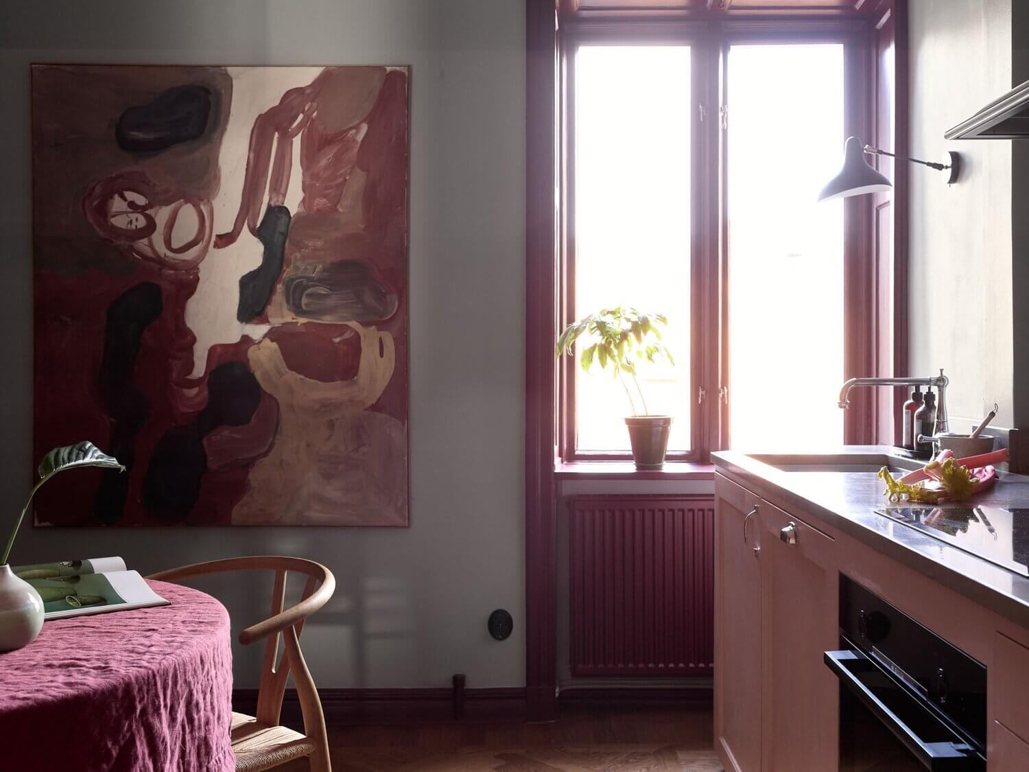 pink-kitchen-colorful-scandinavian-home-nordroom