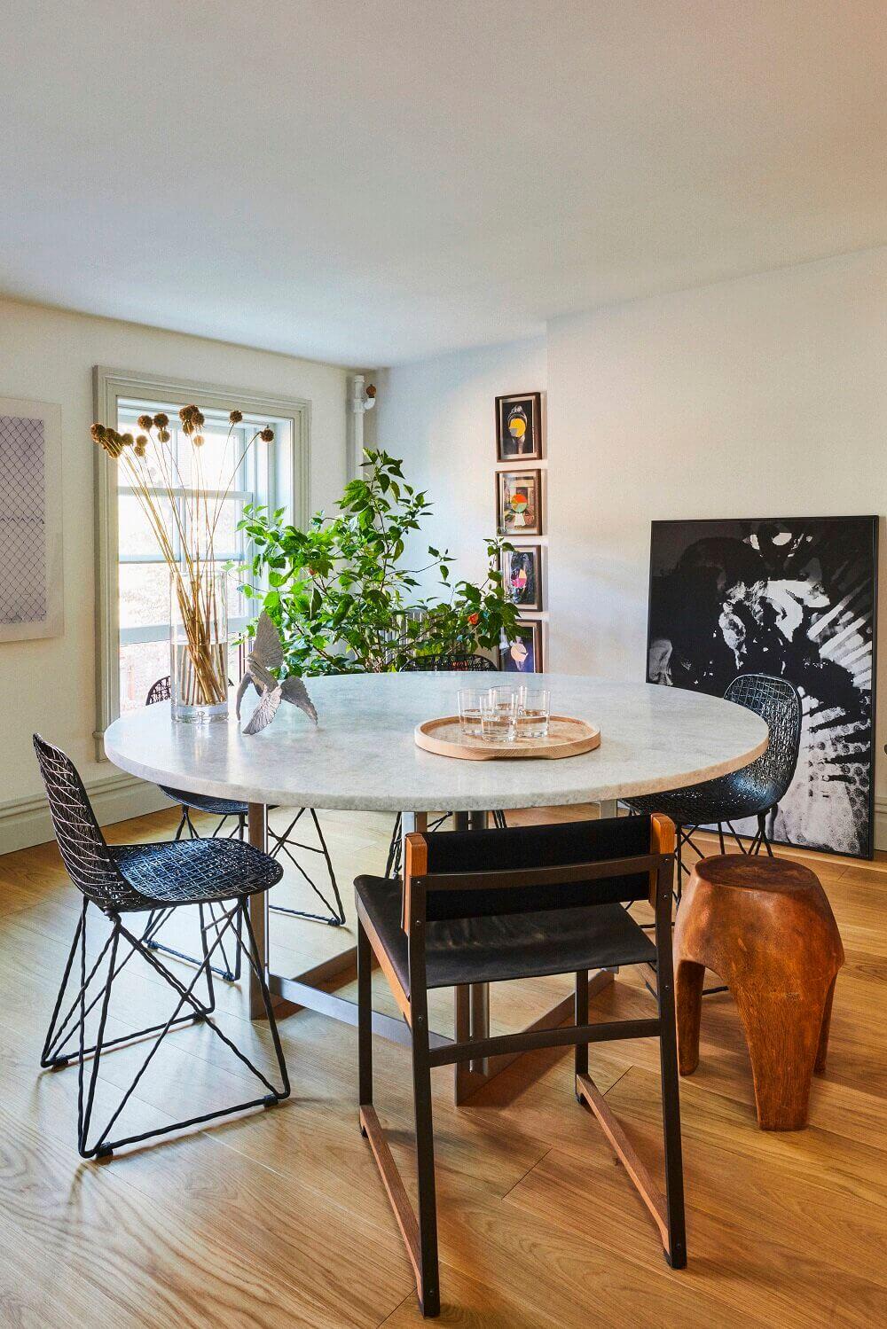 A Wonderful Brooklyn Brownstone Restoration by Uli Wagner Design Lab