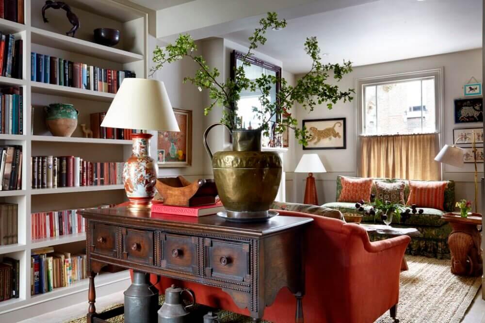 An Interior Designer's Colorful London Worker's Cottage