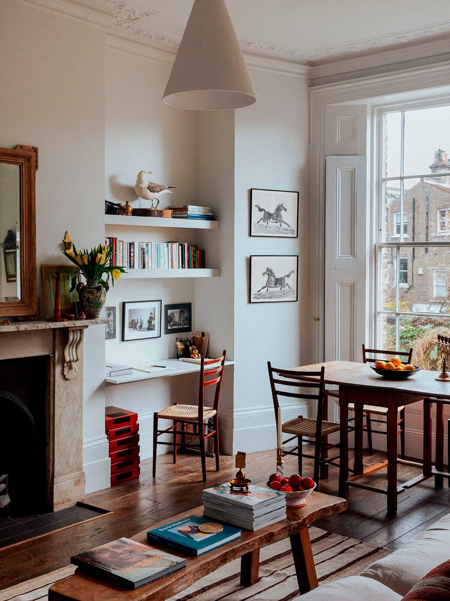 The Small London Apartment Of An Antiques Dealer