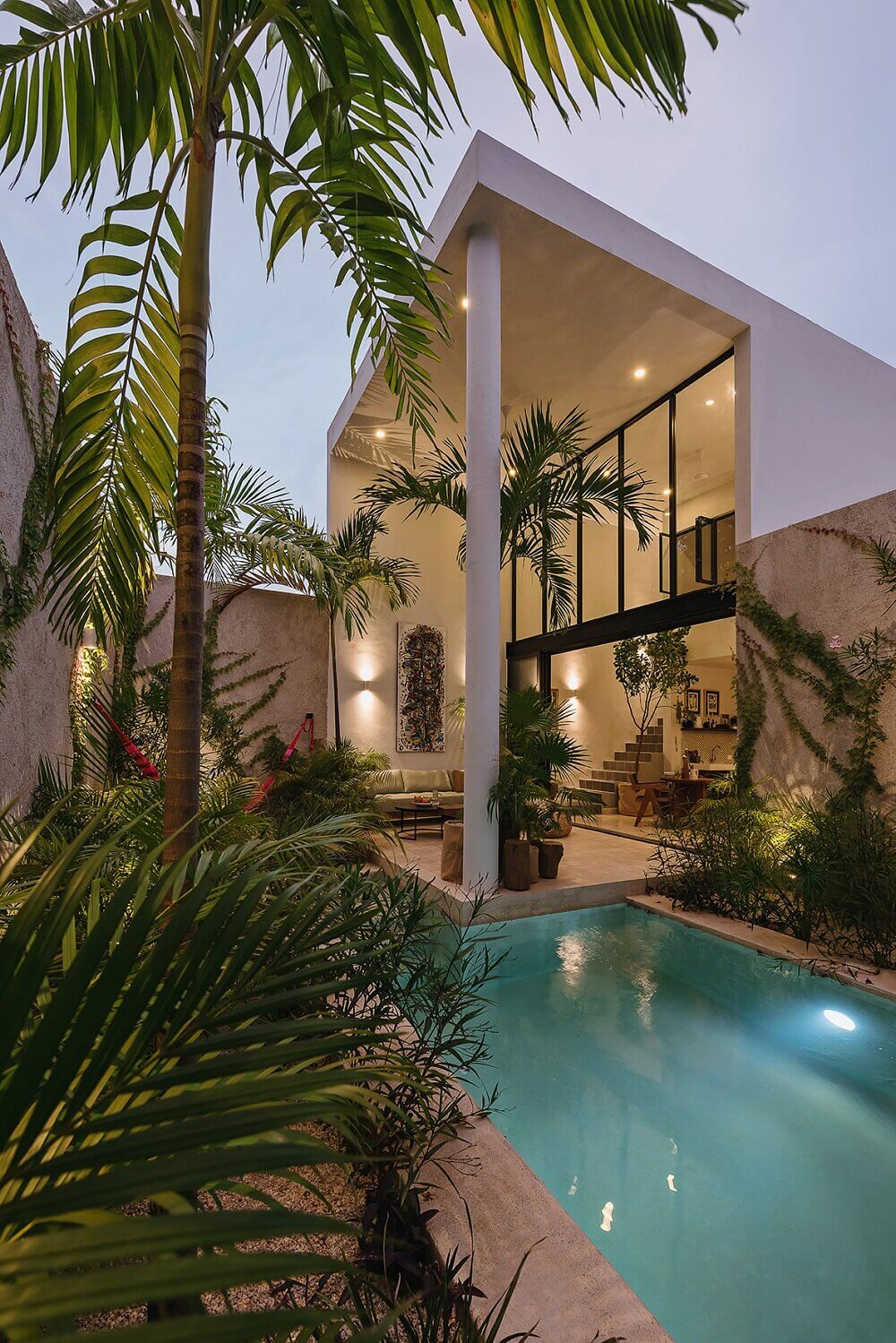 Casa Hannah | An Architectural Indoor/Outdoor Villa in Mexico