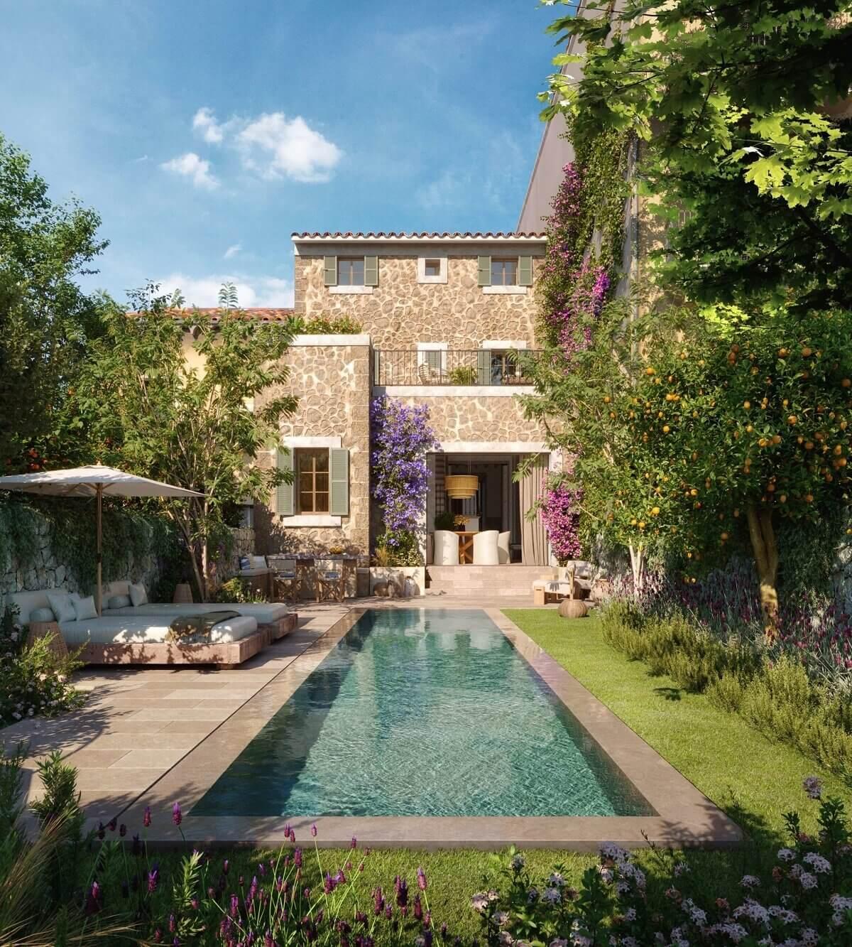 Casa Marés: A Parisian Influenced Townhouse on Mallorca