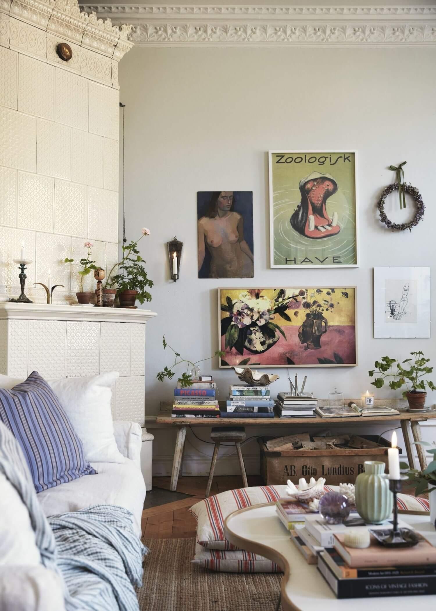 Elsa Billgren's Vintage Stockholm Apartment