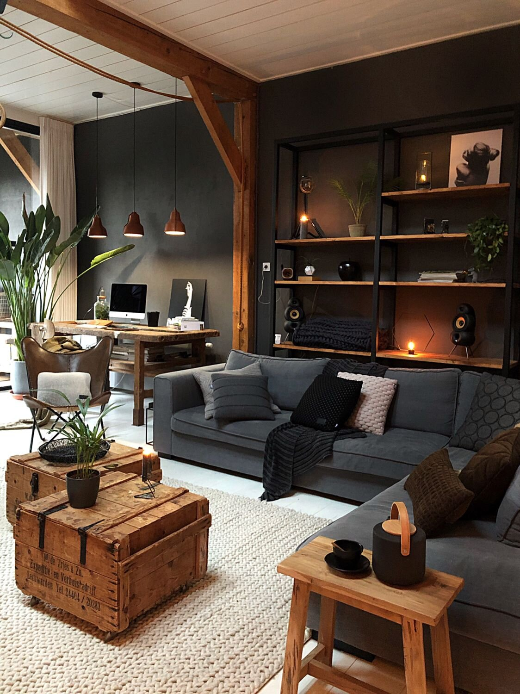 Paint it Black: Dark Interior and Exterior Design Ideas