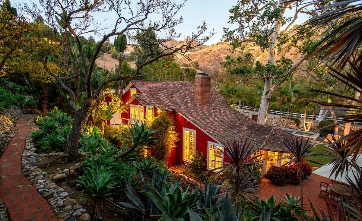 A Fairytale Red Barn Conversion in Malibu