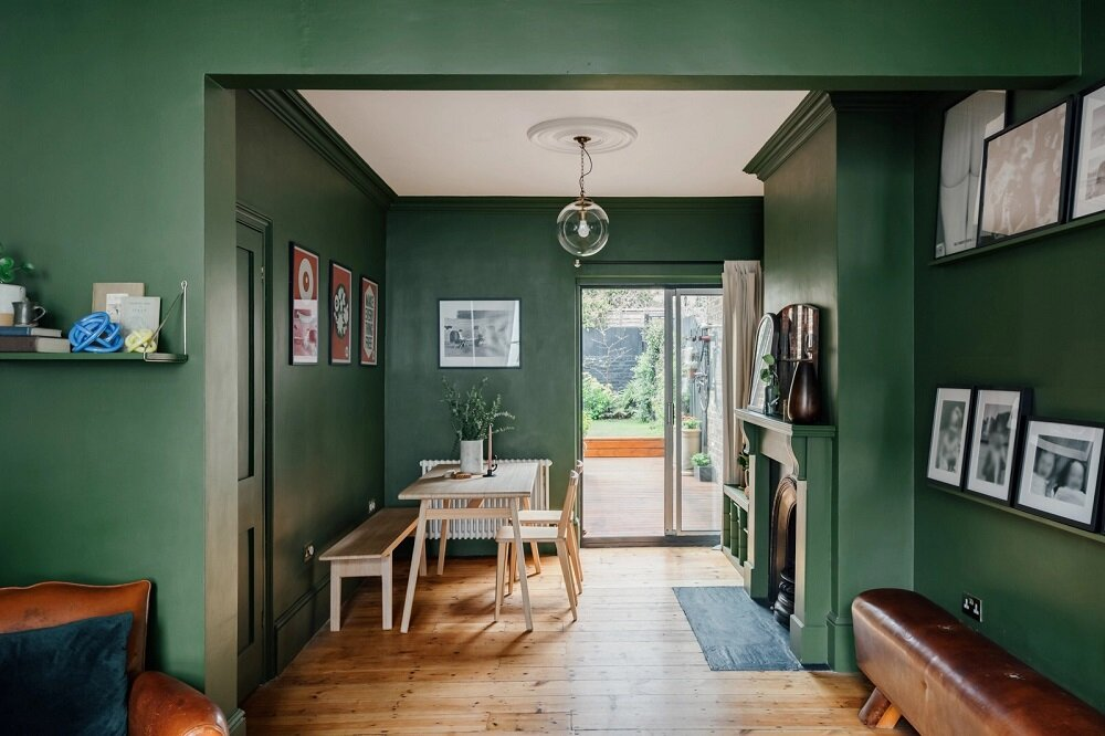 green-living-room-fireplace-london-nordroom