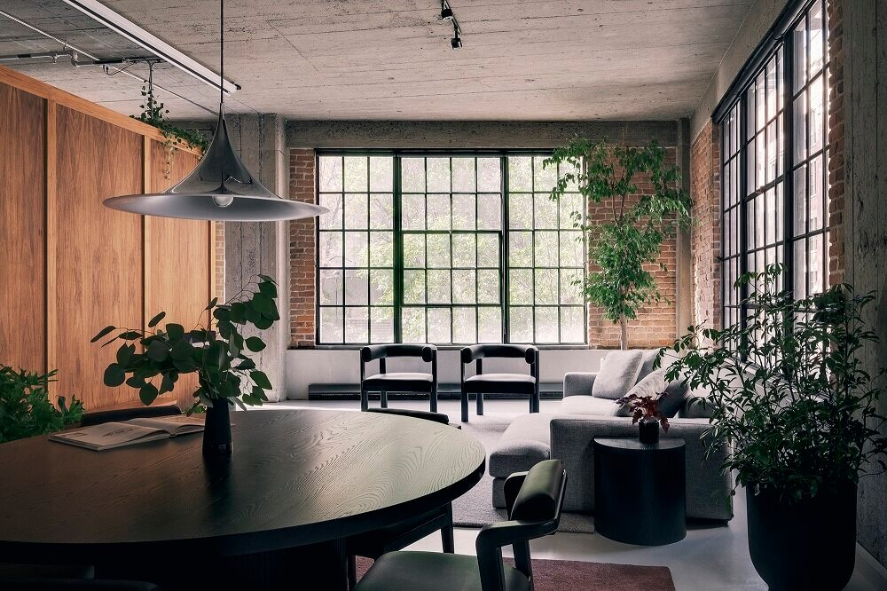 An Industrial Loft in Montreal Designed by Future Simple Studio