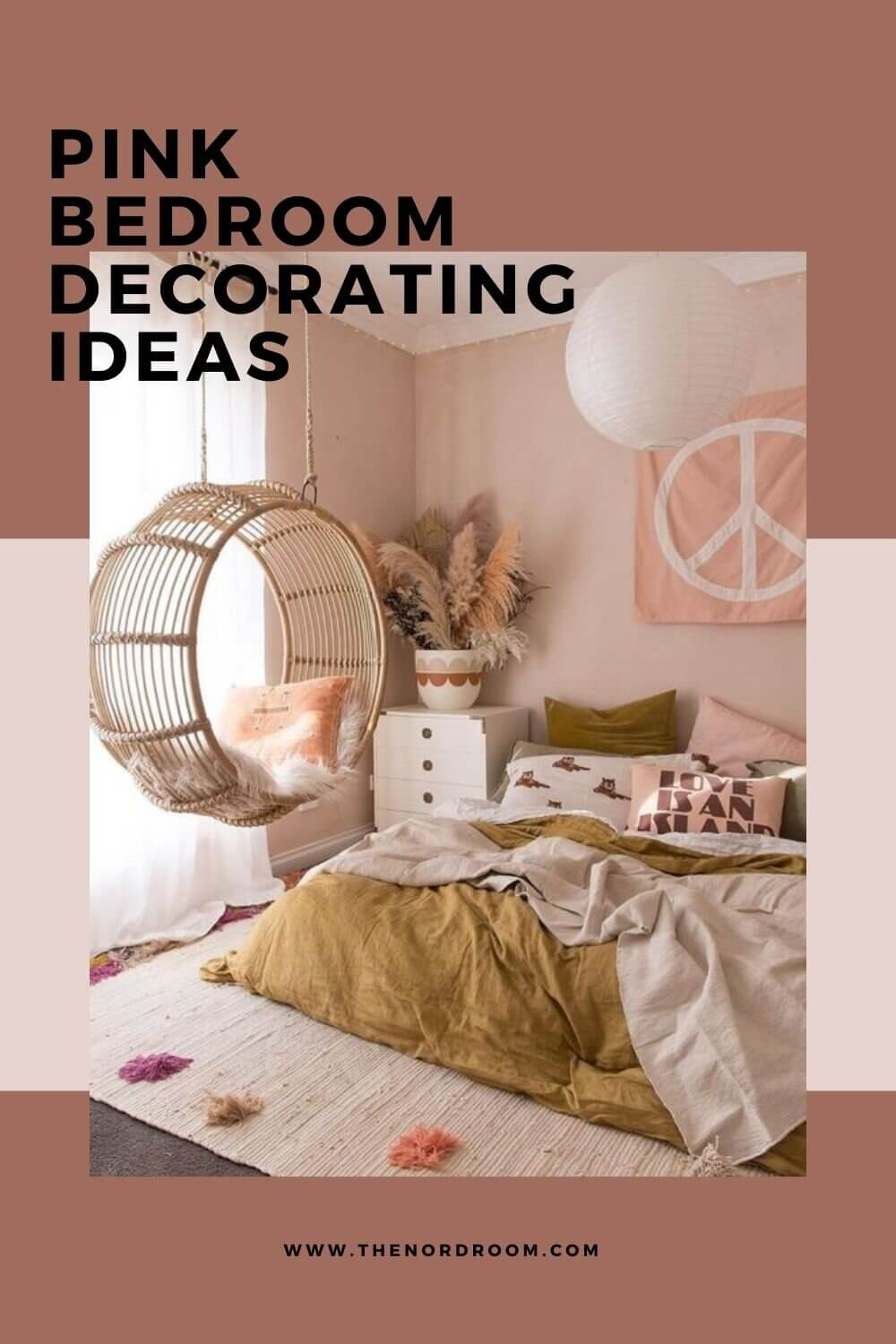 How To Style A Pink Bedroom