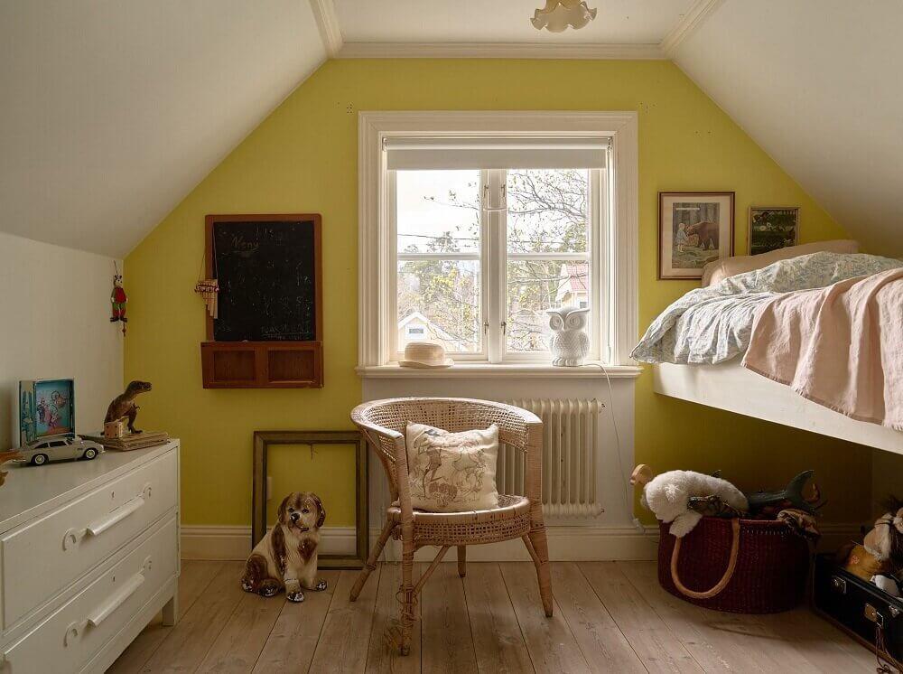 yellow-children-room-loft-bed-nordroom