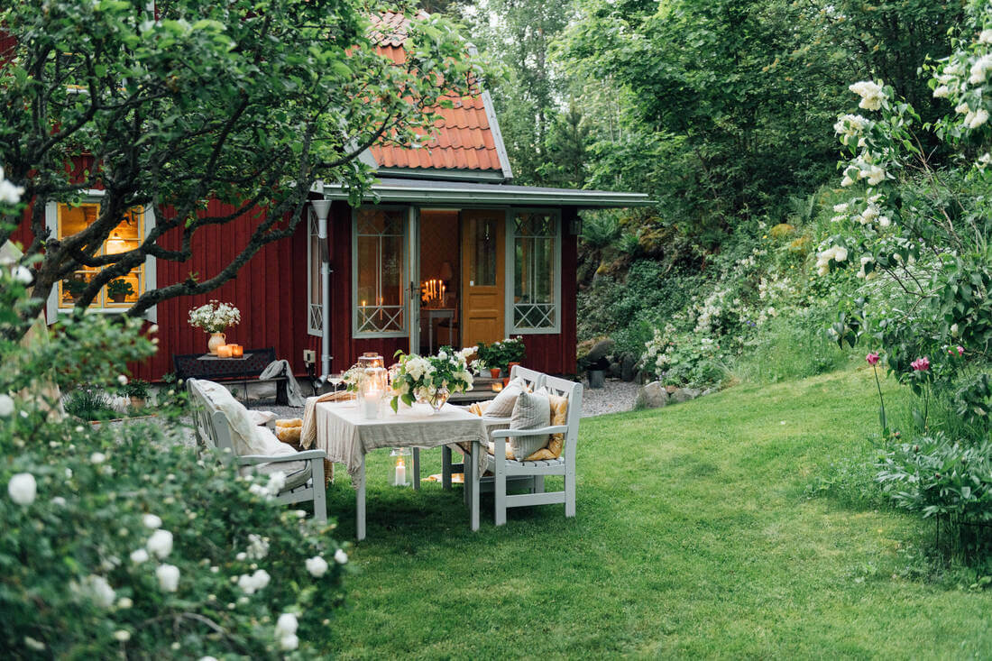A 19th-Century Swedish Home with Charming Garden