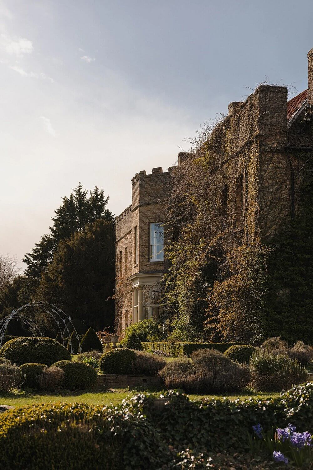 A Careful Restoration of an English Country House